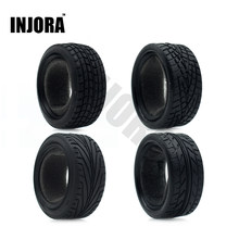 4 stks/set Rubber Tyre Wheel Band voor 1/10 RC On Road Car Traxxas HSP Tamiya HPI Kyosho RC Auto(China)