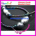 free shipping L825 nice beaded eyeglasses sunglasses eyewear spectacle chain cords