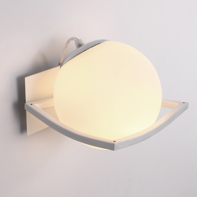 Bathroom Modern Wall Lamp Glass Shade Wall Sconce Bedroom Corridor Wall Mounted Lights  for cafe bar shop children light Bathroom Modern Wall Lamp Glass Shade Wall Sconce Bedroom Corridor Wall Mounted Lights  for cafe bar shop children light