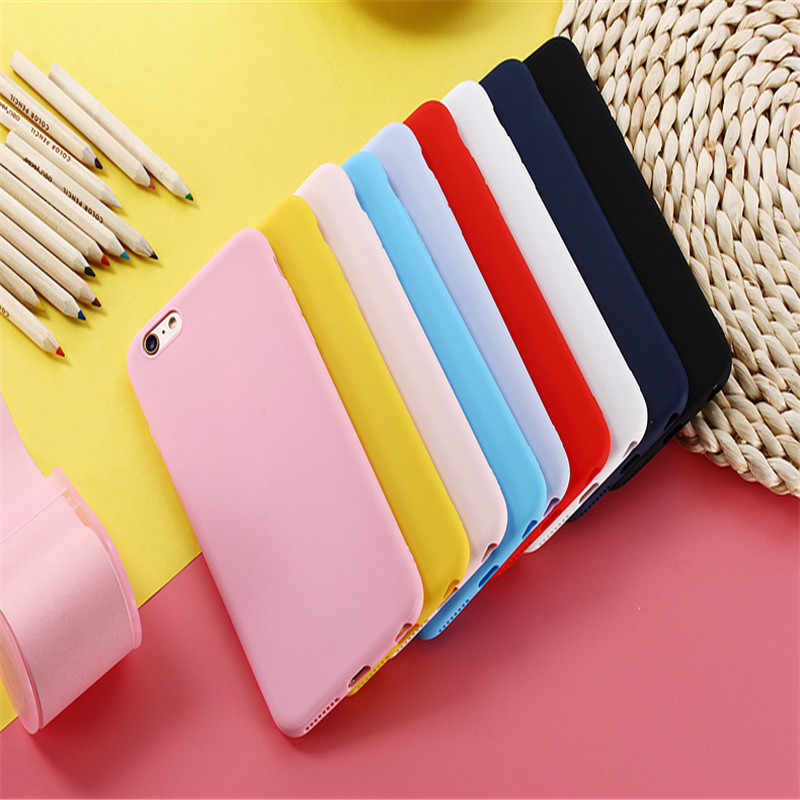 Doces Cores Soft Case Para OPPO F9 F5 F11 R17 Pro A33 A35 A37 A39 A57 A59 A71 A79 A73 A83 A3 A7 A9 K1 F9 K3 A5 A1K Reno 10X Zoom