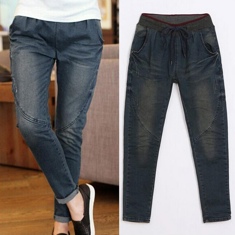 2017 spring jeans feminina fashion jeans woman pour femme cotton straight pants loose ripped. Black Bedroom Furniture Sets. Home Design Ideas