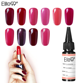 Elite99 30 ml UV Gel Nagellack Nail art Design Maniküre Top Basis Mantel Benötigt Semi Permanent DIY Nägel Gel farbe UV Gel Nagel