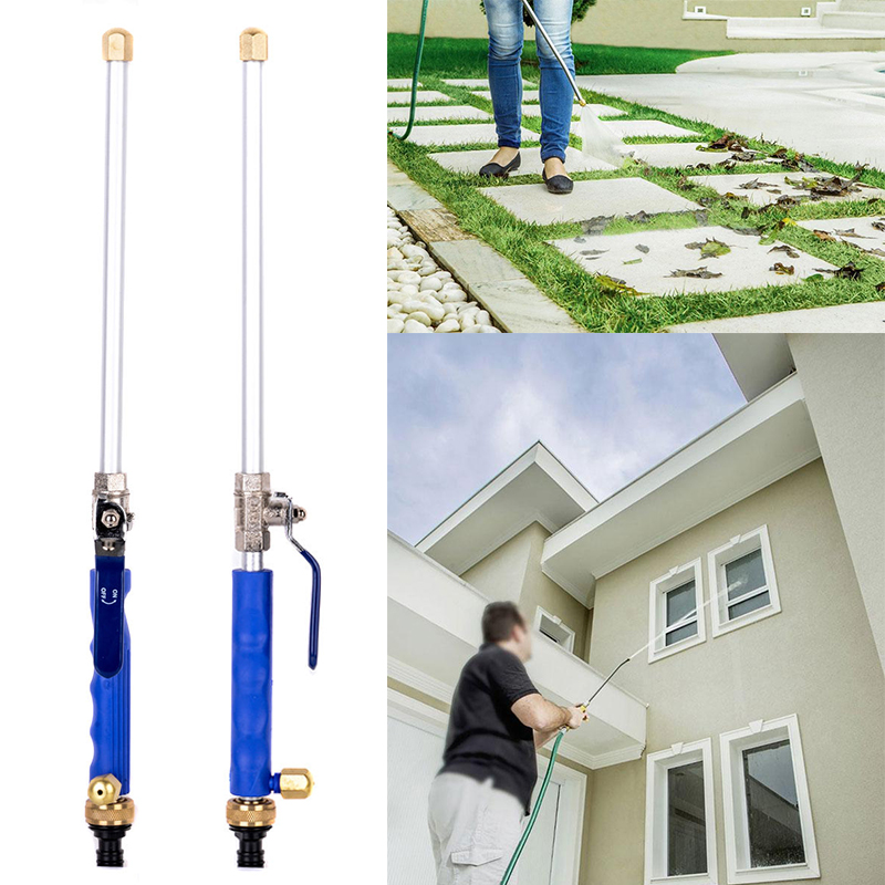 New High Pressure Power Washer Water Jet Watering Gun Garden Nozzle Powerful Hose Nozzle Car Water