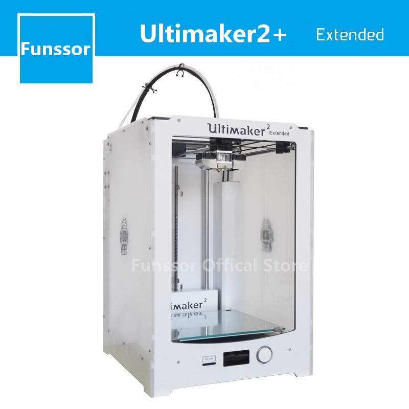 Funssor Ultimaker2 Extended+ higher version 3D printer Working Aread 223x223x205mm Not Assembled midnight delight new extended version cd