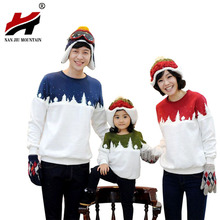 Family Look Christmas Tree Family Clothing Dad Mom Boy T-Shirt Mommy And Me Daughter Clothes Father Son Matching Clothing