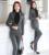 Plus Size 4XL Outono E Inverno Estilos Uniformes Pantsuits Formais Profissional Jaquetas E Calças de Negócios Calças de Escritório Conjunto