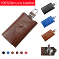 2017 new high-grade leather key holder keys case wholesale multifunction key card bag housekeeper for lady and men,ANS-CL-Y015