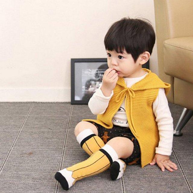 c4dee5731 Baby Toddler Kids Girls Boys Socks Cute Soft Pencil Pattern Cotton Knee  High Socks