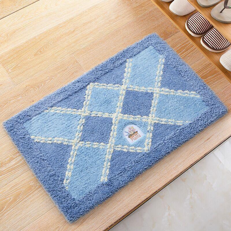Acuden alfombra alfombra cuadrada cocina dormitorio bao de pies