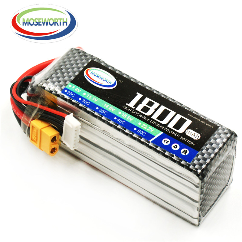 18.5V 5S 1800mAh 60C Lipo Battery For RC Helicopter Drone Airplane Quadcopter Car Boat Tank Remote Control Toys Lithium Battery keenstone upgrade 3s 6400mah 11 1v 70wh lipo battery for yuneec typhoon q500 q500 4k q500 typhoon g drone rc quadcopter