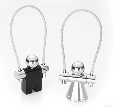 Germania Troika genuino set di cristallo di amore corda per saltare coppia chiave/cerchio corda per saltare piccolo anello chiave del metallo - 6