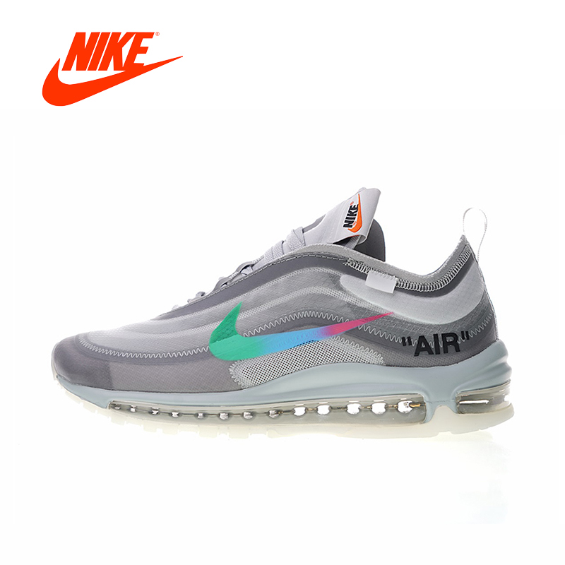 8ac76737a07366 Original New Arrival Authentic Nike Air Max 97 x Off White Women s Running  Shoes Sport Outdoor