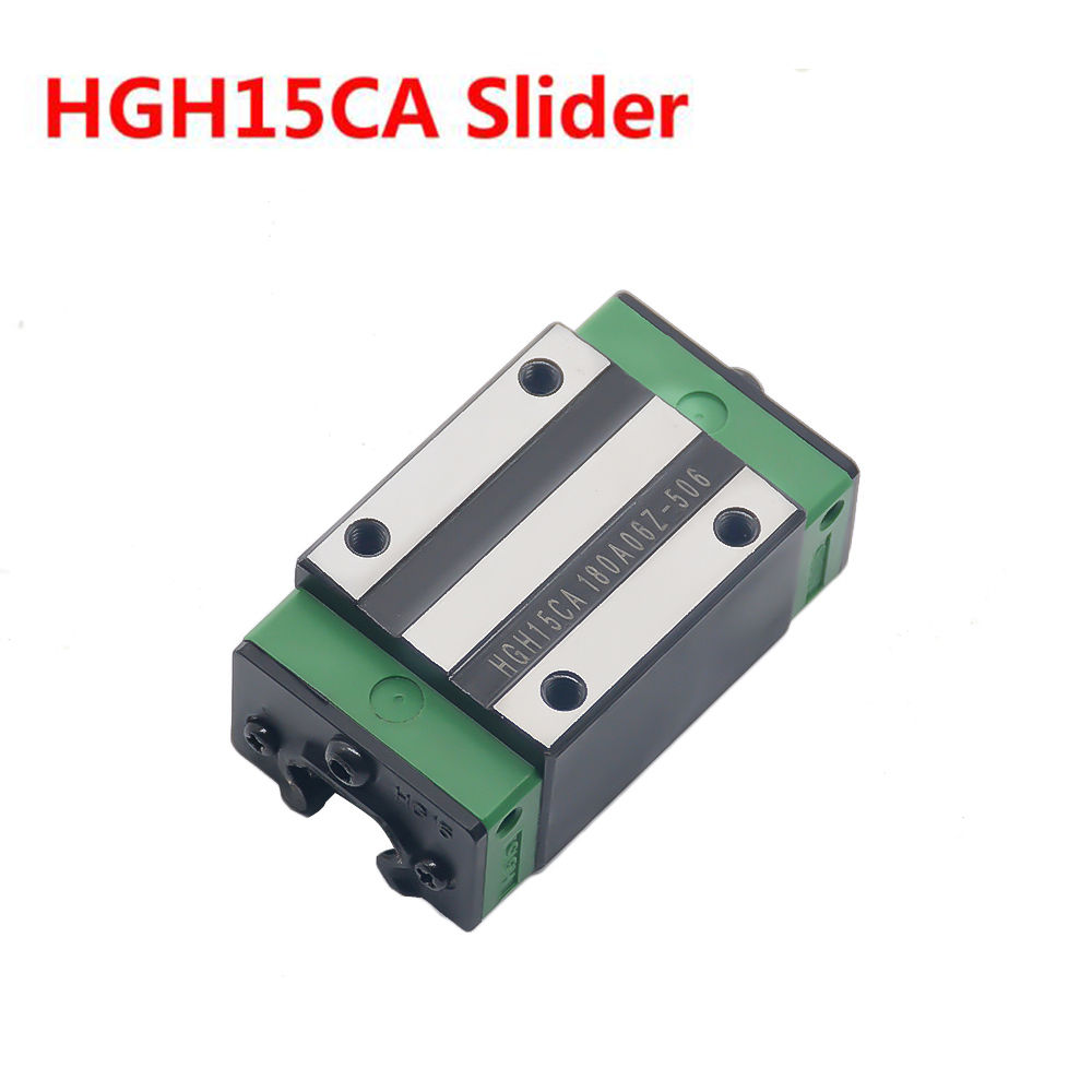 1PC HGH15CA Slider match use HGR15 Linear Guide Width 15mm Rail for CNC DIY parts1PC HGH15CA Slider match use HGR15 Linear Guide Width 15mm Rail for CNC DIY parts