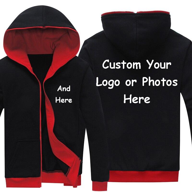 Kinggo Customized Man with Hood Bag Lexus Car Logo Comfortable Zipper Sweaters