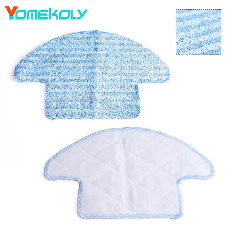 1 piece Washable Reusable Replacement Microfiber Mopping Cloth  For Haier Robot Vacuum Cleaner T320 Mop Cloths 284.1*163.6mm steam mop replacement pad for h2o x5 model mop clean washable cloth microfiber steam mop cloth cover head in mop reusable cloth