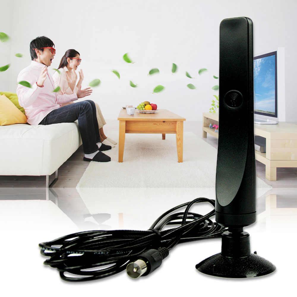 YCDC DC 12dBi Антенна телевизионная антенна для DVB-T ТВ HD ТВ цифровая, Бесплатный просмотр HD ТВ антенна усилитель продажа 2019 Горячая Новая бесплатная доставка