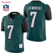 200e881b2e033 Salto Jersey hombre Jersey de Filadelfia Camisetas fútbol americano  Jaworski Jersey tamaño S-XXXL Color Verde Negro envío gratis.