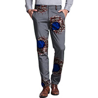 Nice Edition Formal Africa Men Print Dress Pants Man African Trousers Dashiki Festive Pattern Costume Customized For Party