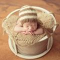 Bebê Colocar Pod Cocoon Newborn Ninho Cesta Tigela Posando Fotografia Newborn Adereços Alça Moda Bebê Assentos Comandante Posando Posant