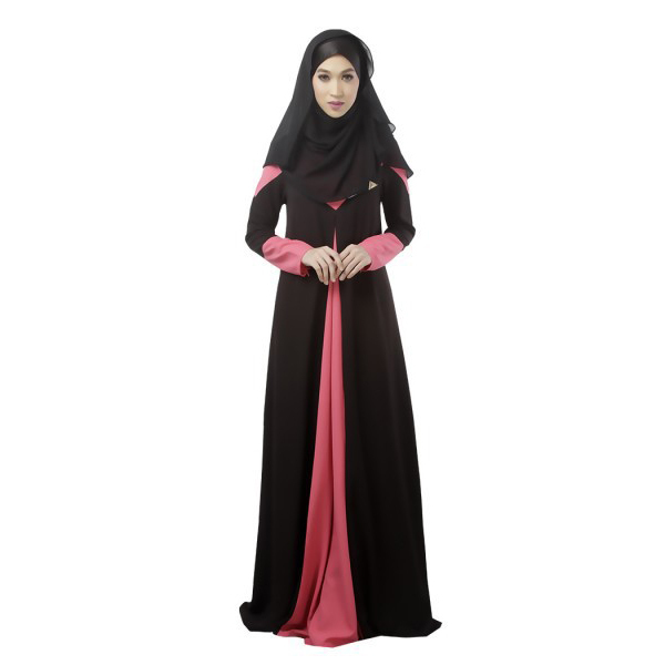 Fashion Women Kaftan Abaya Jilbab Islamic Muslim Long Sleeve Vintage Maxi Dress