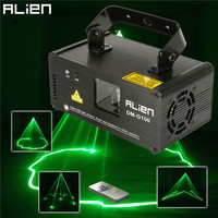 Suny DMX 100mW Green Laser Stage Lighting Scanner Effcet Xmas Bar Dance Party Show Light DJ