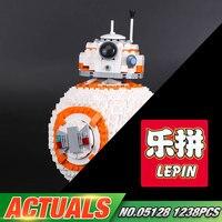 Lepin 05128 In Stock 1238Pcs Star Plan Series The Double B 8 Robot Set 75187 Set