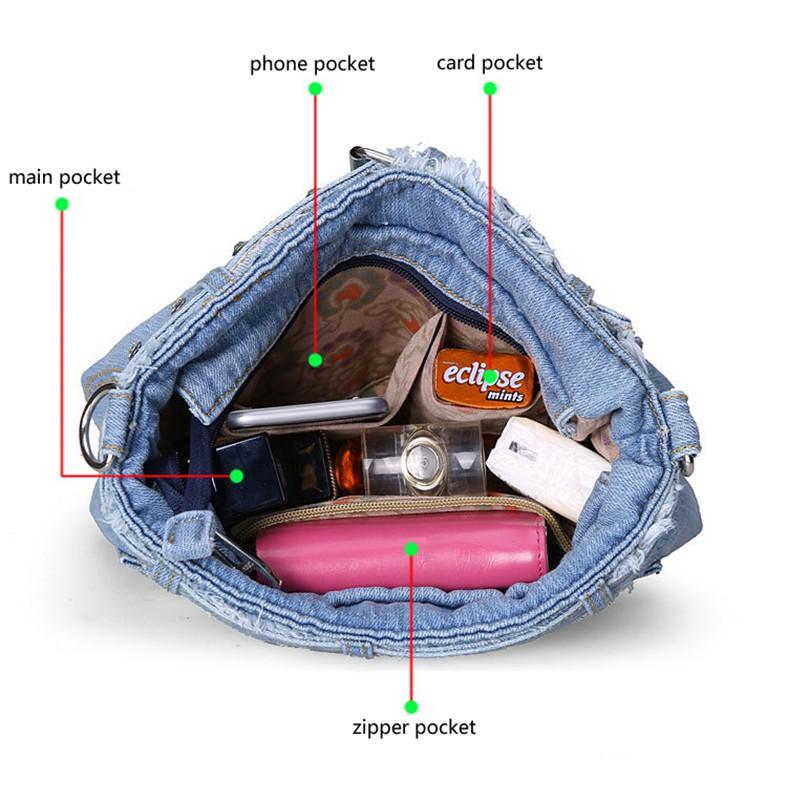 Denim Women Bag