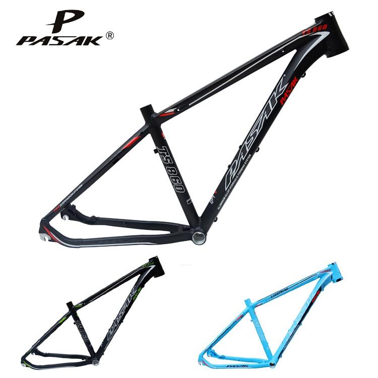 все цены на PASAK 1600g 27.5inch MTB aluminum bike frame mountain bicycle frameset bicicletas mountain bike 27.5