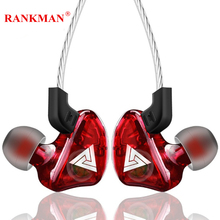 цены Rankman Fashion Earphones Stereo Bass Sport Earbuds High Quality Earphones with Mic for phones MP4 PC
