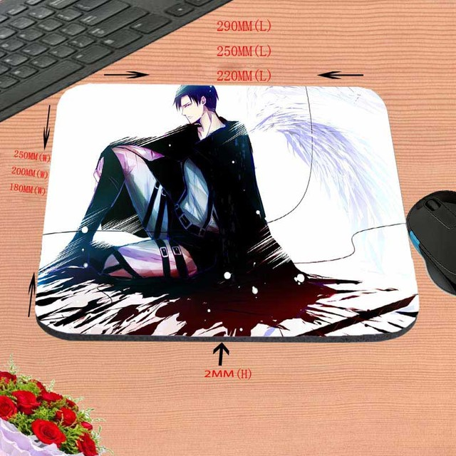 Attack on Titan  Computer Notebook Mouse Mat