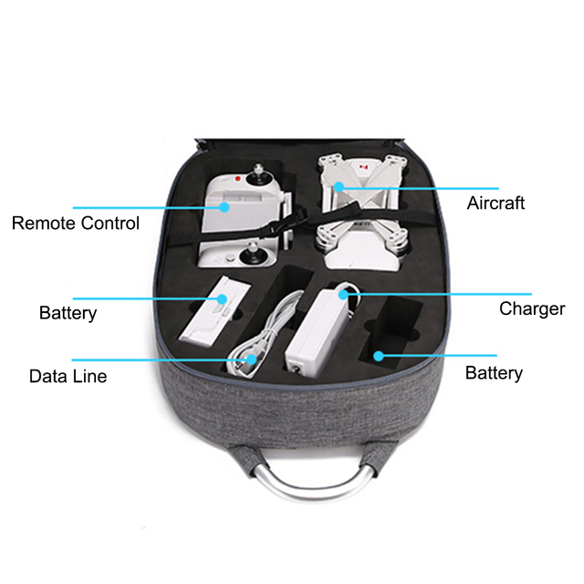 Fashion Fimi X8 SE Drone Bag Storage Travel Case for Xiaomi Fimi X8 SE RC Quadcopter Carrying Portable Bag Protect Accessories 5