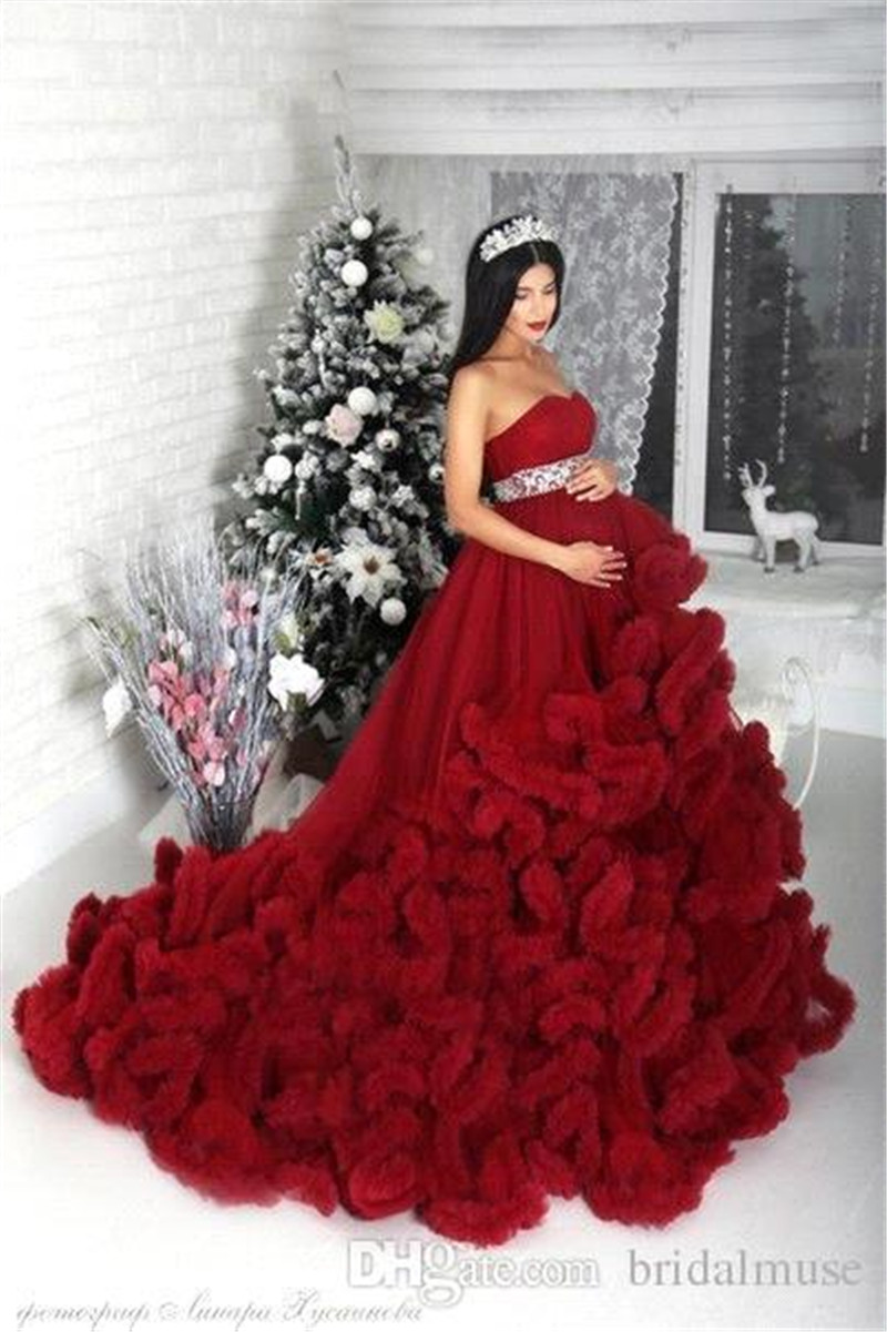 Robe de mariage puffy ball gown wedding dresses cash on for High low ball gown wedding dress