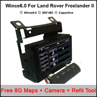 7 Inch Car DVD GPS Stereo Player For Land Rover Freelander II 2007 2012 With Touch