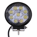 27 W LED Trabalho Light 12 V 24 V Luzes Off-road ATV Tractor Train Bus Holofote Lâmpada Barco UTV Carro Engenharia Automotiva Spotlight