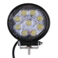 27W LED Work Light 12V 24V Off-road Lights ATV Floodlight Tractor Train Bus Lamp Boat UTV Car Automotive Engineering Spotlight