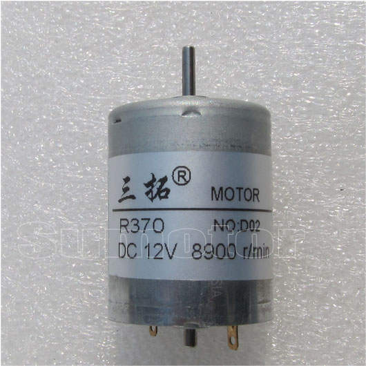 R370 6V 12V 3500RPM 8300rpm High speed DC Micro Electric toys motor Mini  engine for DIY Robot boat car model Reversible variable