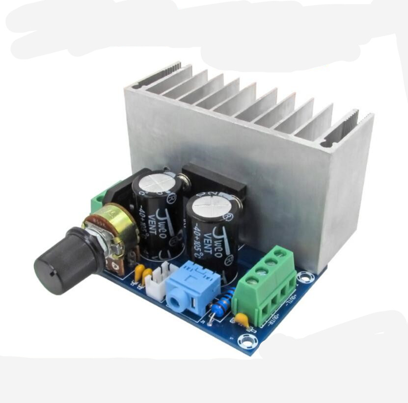 XH-M221 TDA1521 pure class a power amplifier board analog circuit board classic lines 30W+30W  A2-001