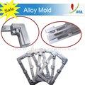 Para samsung j1 j2 j3 j5 j7 rehabilitación encolado lcd exterior de cristal del molde de aluminio uv pegamento alineación del molde