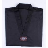 Taekwondo Dobok Long Sleeve Tae Kwon Do Uniform Karate Clothes Proffesional Taekwondo Trainers Black Red Clothing