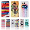 G850 Fashion Owl Tower Flag Cartoon Pattern Soft TPU Case For Samsung Galaxy Alpha G850 G850F G8508S Mobile Cell Phone Cover