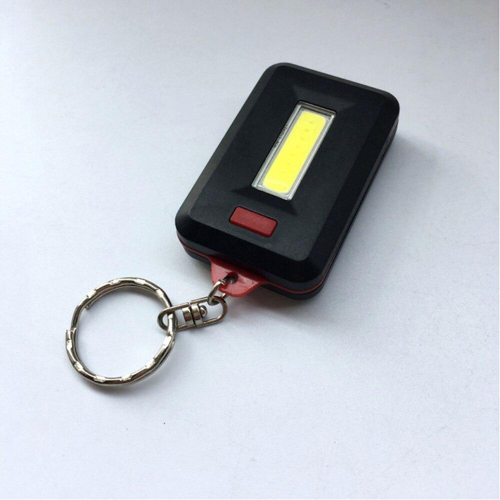 2 Key Cover DEL Lumière Keychain Torch Lampe de Poche Porte-clés Case Cap NOUVEAU!