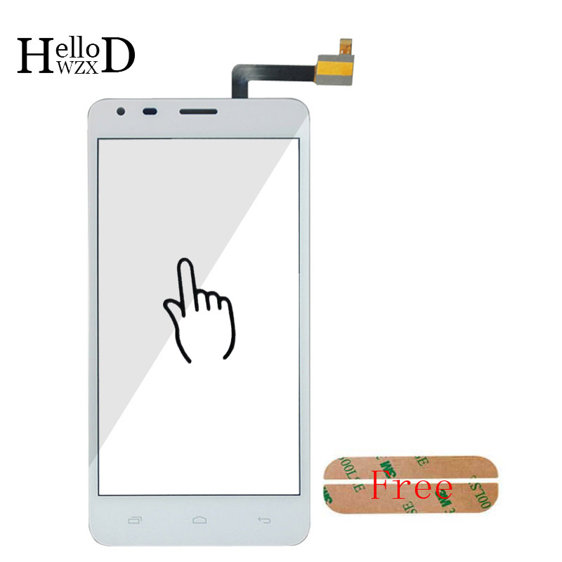 Touchscreen For Fly IQ456 ERA Life 2 IQ 456 Touch Screen Lens Sensor Digitizer Front Glass Repair Assebmly Parts Adhesive Tools