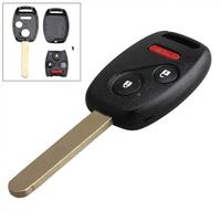 Black 2 1 Buttons 313 8Hz Replacement Remote Control Car Key Fob Transmitter Clicker Alarm With