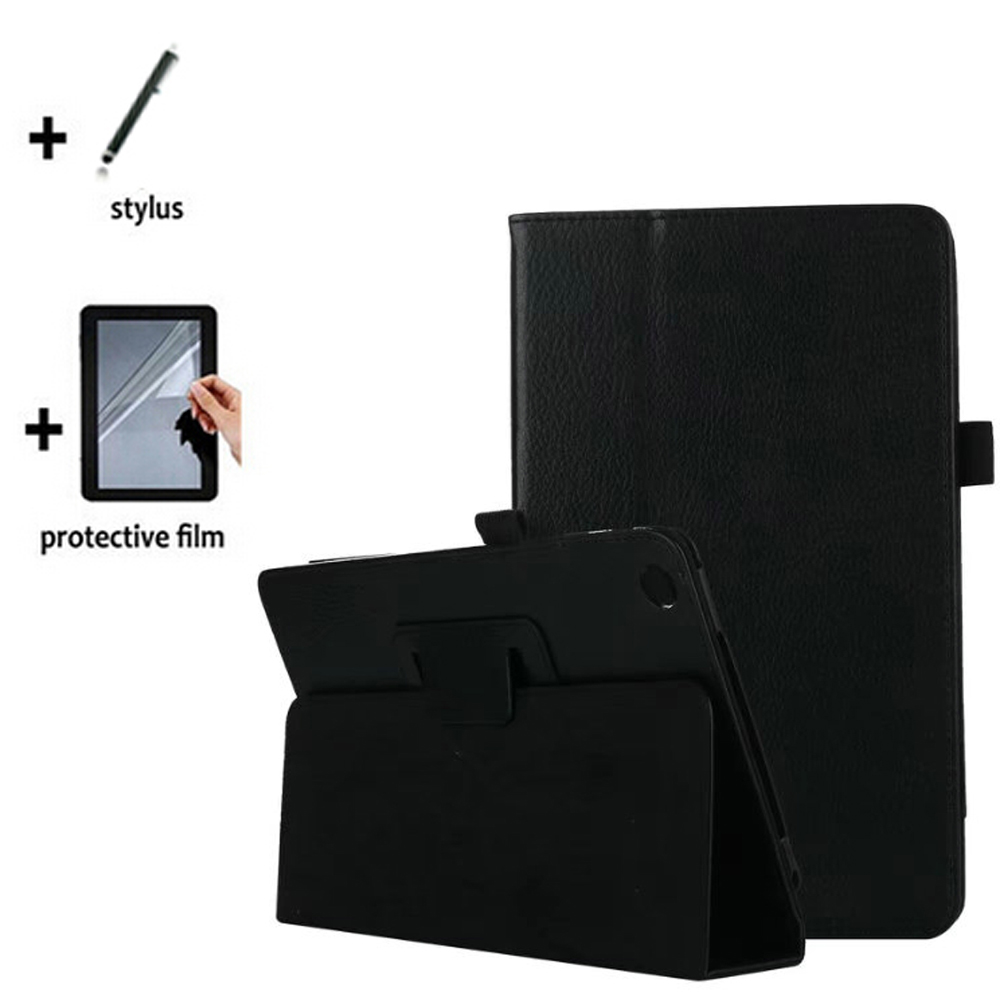 3In1 Luxury Folio Stand Magnetic Leather Case Cover +1X Screen Protector Film +1X Stylus For Huawei M5 8.4 SHT-AL09 SHT-W09 8.4