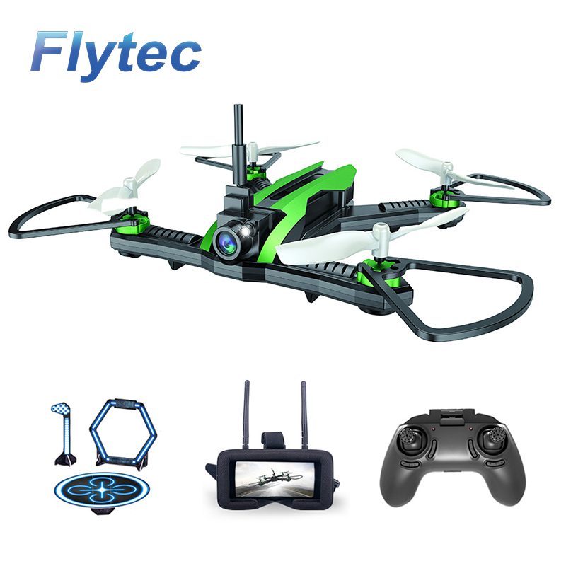 Flytec H825 5.8G Racing FPV Drone High Speed RC Mini Quadcopter RTF with without VR Goggle Remote Contro Glass Helicopter Toys
