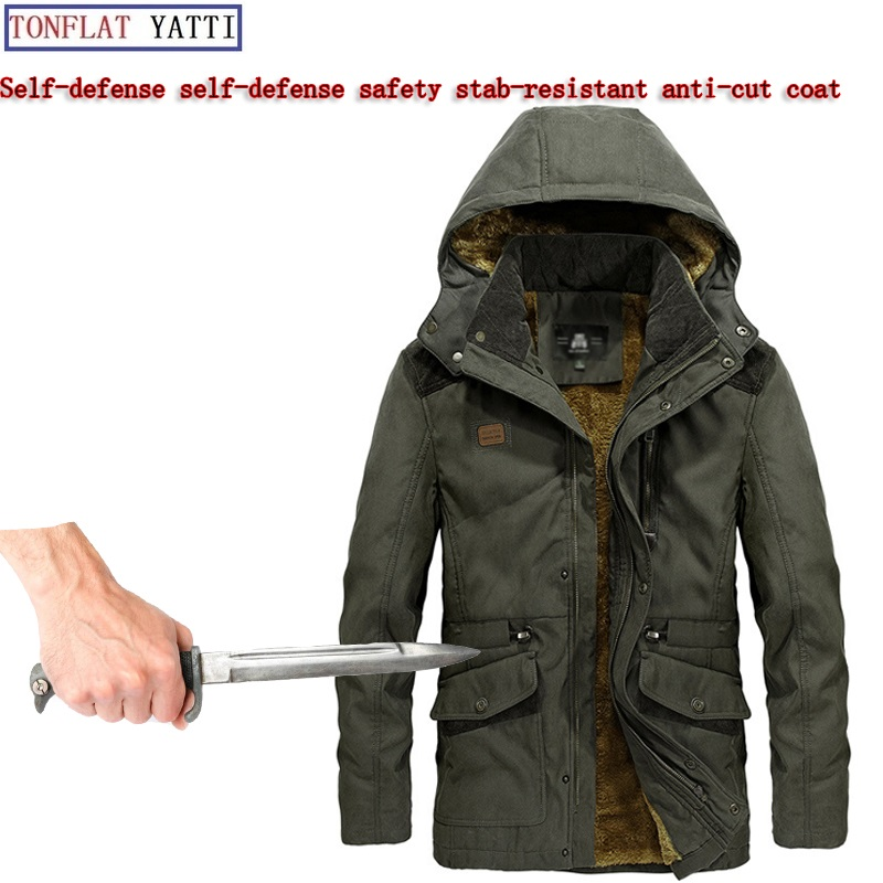 Military Tactics Security Soft Stealth Stab-resistant Cut-proof Jacket Self-defense Self-defense Protection Body Safety Clothing
