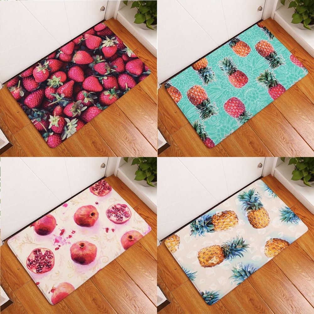 Strawberry Pinele Fruit Doormat Bath