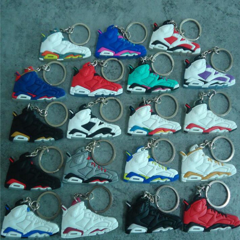 2b4e18e42ffd3c Detail Feedback Questions about New Jordan 6th Keychain Jordan Basketball Shoes  Key Chain Auto Accessories Company Gifts Shoes Keyring B 1133 on ...