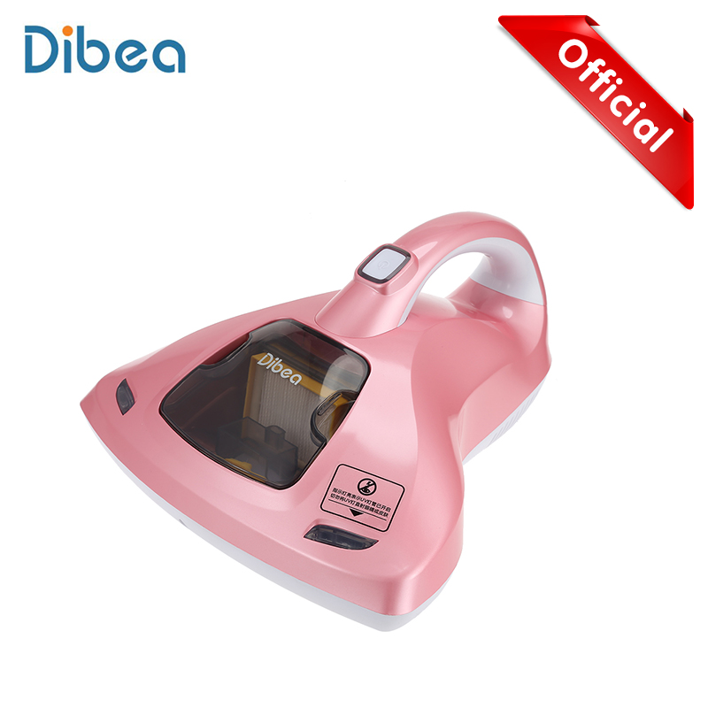 Dibea UV-858 Wireless Vacuum Cleaner Home Bed Mites Collector Handheld Vacuum Cleaner For Home Aspirator Home Appliances ultra quiet push rod vacuum cleaner portable dual use handheld dust collector mites killing device high power home aspirator