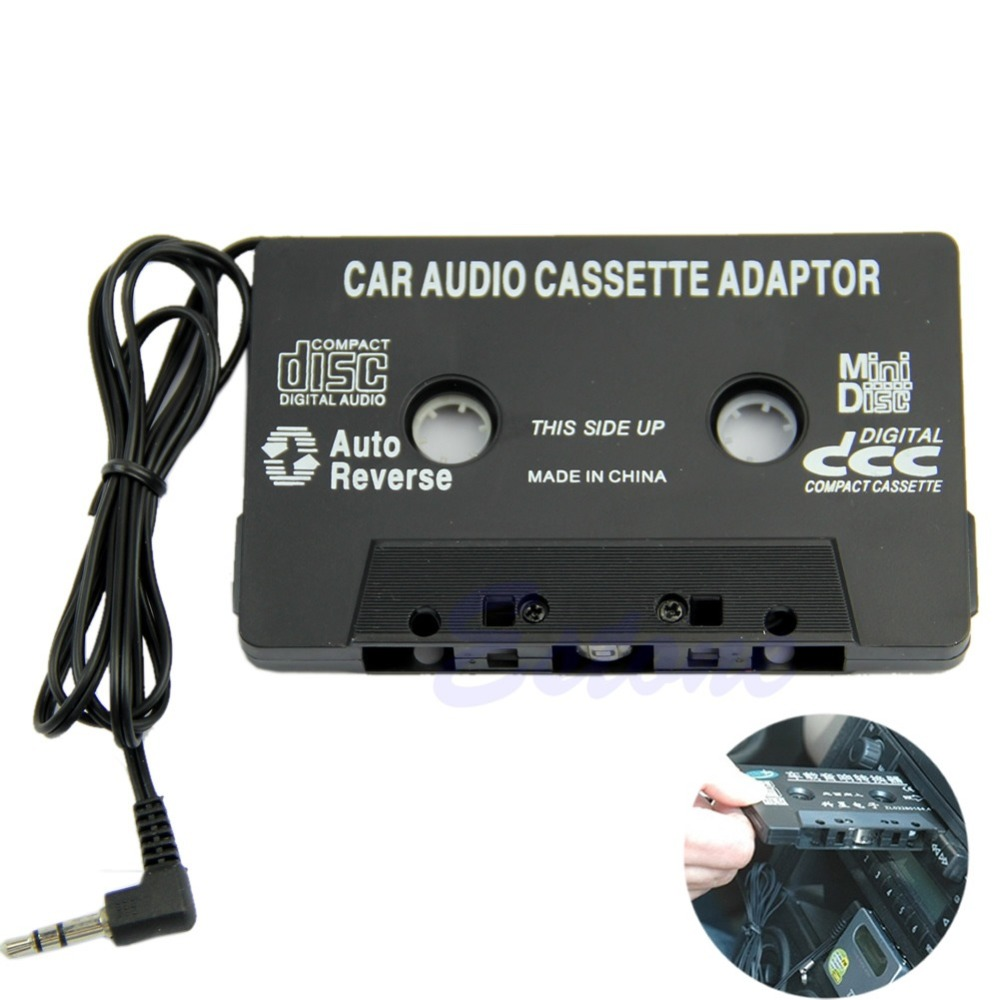 Heim-audio & Video Clever 1 Stück Auto Band Audio Kassette Radio Adapter 3,5mm Aux Kabel Für Iphone Ipod Mp3 Cd Md Schwarz/ Weiß Hell In Farbe